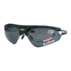 【ダンロップ DUNLOP】無料度付きサングラス はね上げタイプ マットブラック DU-002