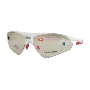 【ダンロップ DUNLOP】無料度付きサングラス はね上げタイプ シャイニーホワイト DU-002