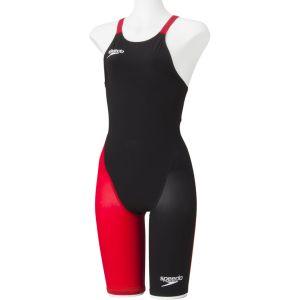 【ゴールドウイン GOLDWIN】Speedo スピード FASTSKIN FS-PRO2 ウィメンズニースキン レディース 競泳用水着 KR K/RE 3S SD48H06