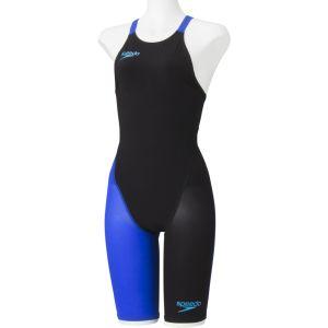 【ゴールドウイン GOLDWIN】Speedo スピード FASTSKIN FS-PRO2 ウィメンズニースキン レディース 競泳用水着 KB K/BL M SD48H06