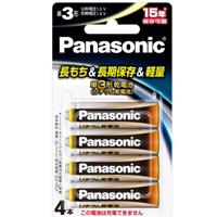 卸直営 メール便3個まで対象商品 納期: 取寄品 未使用 出荷:約7-11日 土日祭日除く パナソニック Panasonic 4B 単3形 4本パック 1.5Vリチウム乾電池 FR6HJ