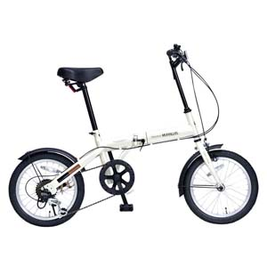 送料無料!!【マイパラス MYPALLAS】折畳自転車16・6SP アイボリー M-103-IV 【メーカー直送 代引不可】【smtb-u】