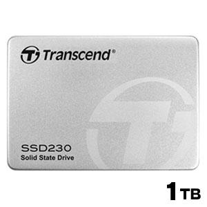【メール便を選ぶと 送料250円!】【トランセンド Transcend】SSD 1TB 2.5インチ SATA3 6Gb/s 3D TLC NAND採用 3年保証 TS1TSSD230S