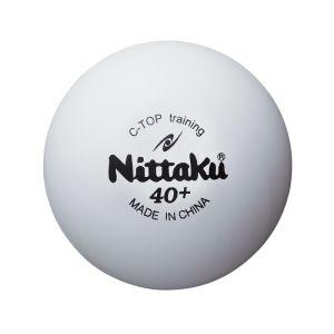 【ニッタク Nittaku】卓球 練習用ボール Cトップトレ球 50ダース入り  NB1467