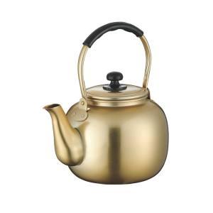 【前川金属工業所】アルマイト 湯沸し 福徳瓶 8.0L (やかん) 61-6713-92 752610