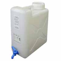 納期: 取寄品 キャンセル不可 出荷:約12-16日 土日祝除く 商品 HH フリー容器 角型タンクコック付き ウォータータンク ポリタンク 2020 KT-10 給水タンク