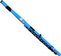 【ヌーボ(NUVO)】プラスチック製フルート STUDENT FLUTE Blue ブルー