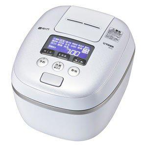 【タイガー(TIGER)】圧力IH炊飯ジャー 炊きたて JPC-A102-WE(アーバンホワイト) 5.5合炊き