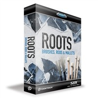 【Toontrack Music】SDX ROOTS - BRUSHES, RODS & MALLETS