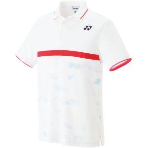 【ヨネックス Yonex】ヨネックス Yonex ゲームシャツ フィットスタイルメンズ ホワイト M 10265