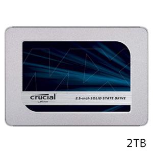 【クルーシャル Crucial】SSD 2TB MX500 CT2000MX500SSD1