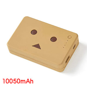 送料無料!!【チーロ cheero】cheero Power Plus DANBOARD version 10050mAh Milk Choco CHE-096-BR【smtb-u】