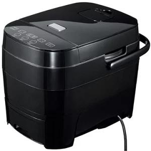 【ヒロコーポレーション】糖質オフ炊飯器 (5合炊き)HTC-001BK