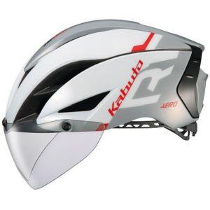 【オージーケーカブト OGK Kabuto】自転車ヘルメット AERO-R1 エアロ-R1 L/XL G-1ホワイトライトグレー