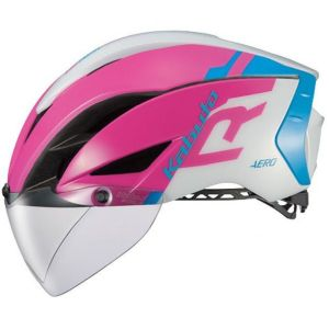 【オージーケーカブト OGK Kabuto】自転車ヘルメット AERO-R1 エアロ-R1 L/XL G-1ピンクブルー