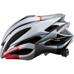 【オージーケーカブト OGK Kabuto】オージーケーカブト OGK ZENARD-EX ゼナード-EX L ホワイトレッド 自転車ヘルメット