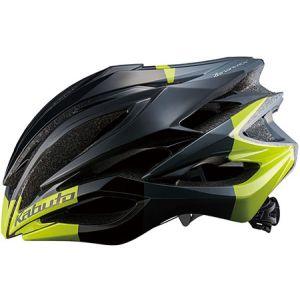 【オージーケーカブト OGK Kabuto】オージーケーカブト OGK ZENARD-EX ゼナード-EX S/M ブラックグリーン 自転車ヘルメット