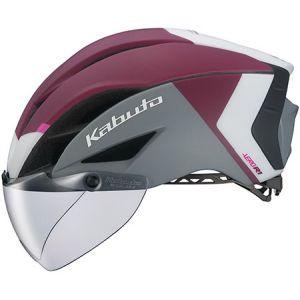 【オージーケーカブト OGK Kabuto】自転車ヘルメット AERO-R1 エアロ-R1 S/M G-2マットダークレッド
