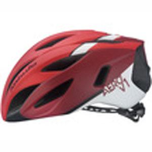 【オージーケーカブト OGK Kabuto】オージーケーカブト OGK エアロV1 AERO-V1 L/XL G-1マットレッド 自転車ヘルメット