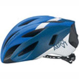 【オージーケーカブト OGK Kabuto】オージーケーカブト OGK エアロV1 AERO-V1 S/M G-1マットネイビーブルー 自転車ヘルメット