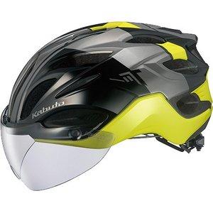 【オージーケーカブト OGK Kabuto】オージーケーカブト OGK ヴィット VITT S/M G-1ブラックイエロー 自転車ヘルメット