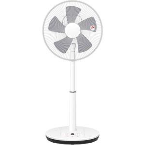 送料無料!!【山善 YAMAZEN】扇風機 30cm DCリビング扇 立体首振り 静音 入切タイマー リモコン付き ホワイト YLRX-BKD303(W)【smtb-u】