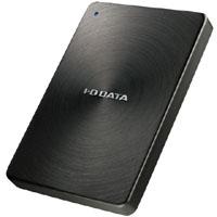 【アイ・オー・データ(IODATA)】全面アルミボディ USB 3.0対応ポータブルハードディスク 2TB ブラック HDPX-UTA2.0K