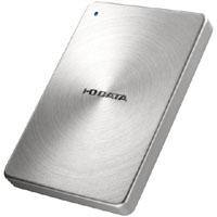 【アイ・オー・データ(IODATA)】全面アルミボディ USB 3.0対応ポータブルハードディスク 2TB シルバー HDPX-UTA2.0S