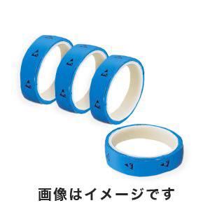 【アズワン AS ONE】アズピュアESD PETラインテープN 青 25mm×33m 10巻入 1-4807-64