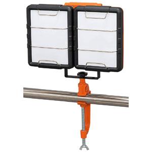 【アイリスオーヤマ IRIS】LED ワークライト クランプライト 屋内専用 7500lm LWT-7500C-AJ