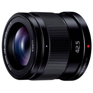 【パナソニック Panasonic】デジタル一眼カメラ用交換レンズ 単焦点レンズ ブラック H-HS043-K