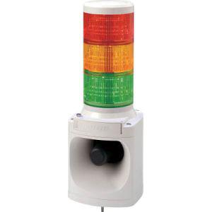 【パトライト PATLITE】パトライト PATLITE LED積層信号灯付き電子音報知器 LKEH-302FA-RYG