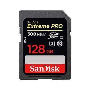 【サンディスク SanDisk 海外パッケージ】サンディスク SDXC 128GB SDSDXPK-128G-GN4IN UHS-II U3 class10 SDカード