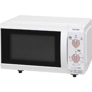 【アイリスオーヤマ IRIS】電子レンジ 18Lフラットテーブル 50Hz IMB-F184-5-WPG 東日本 IMB-F184WPG-5