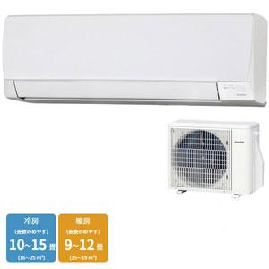 【アイリスオーヤマ IRIS】エアコン 冷暖房 主に12畳用 内部クリーン機能 スタンダード 3.6kW IRA-3602A