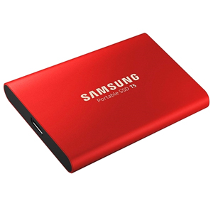 【サムスン Samsung】外付SSD T5 USB3.1 Gen2 1TB MU-PA1T0R/WW