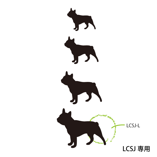 lcsj-01 表札専用 Lワンポイント追加オプション