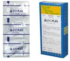 第2類医薬品 麻子仁丸 新色 30包 日本正規代理店品 三和生薬