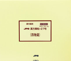【第2類医薬品】 四物湯 180包 JPS漢方顆粒-27号