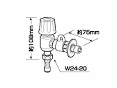 【キャッシュレス5%還元店】ナショナル 分岐水栓 CB-E7 食器洗い乾燥機用【送料無料】【KK9N0D18P】