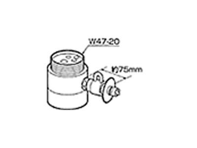 食器洗い機設置用 分岐水栓 CB-SS6 【送料無料】【KK9N0D18P】