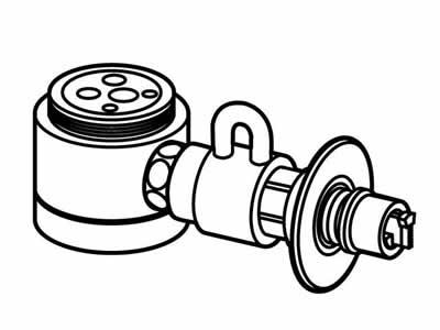 食器洗い機設置用 分岐水栓 CB-SSG6【送料無料】 CB-SSG6【KK9N0D18P】, SATO SHOES STUDIO:86aa21fe --- olena.ca