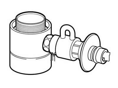 食器洗い機設置用 分岐水栓 CB-STKA6 【送料無料】【KK9N0D18P】