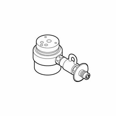 食器洗い機設置用 分岐水栓 CB-SXC6 シングル分岐水栓・INAX社用【送料無料】【KK9N0D18P】