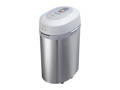 パナソニック 家庭用生ゴミ処理機 MS-N53-S(シルバー) 屋内外タイプ 温風乾燥方式 【リサイクラー】 MSN53S ナショナル【送料無料】【KK9N0D18P】