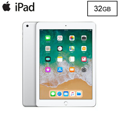 【即納】Apple iPad 9.7インチ Retinaディスプレイ Wi-Fiモデル 32GB MR7G2J/A シルバー MR7G2JA 2018年春モデル【送料無料】【KK9N0D18P】