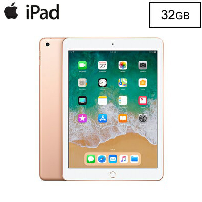 【最大3000円OFFクーポン配布中!~3/11(月)1:59迄】Apple iPad 9.7インチ Retinaディスプレイ Wi-Fiモデル 32GB MRJN2J/A ゴールド MRJN2JA 2018年春モデル【送料無料】【KK9N0D18P】