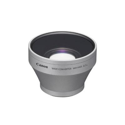 キヤノン ビデオカメラ用 ワイドコンバーター WD-H43 Canon【送料無料】【KK9N0D18P】