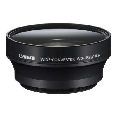 【キャッシュレス5%還元店】キヤノン ビデオカメラ用 ワイドコンバーター WD-H58W Canon【送料無料】【KK9N0D18P】