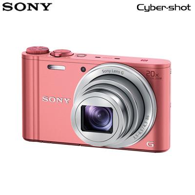 【キャッシュレス5%還元店】ソニー デジタルカメラ サイバーショット WX350 DSC-WX350-P ピンク 【送料無料】【KK9N0D18P】